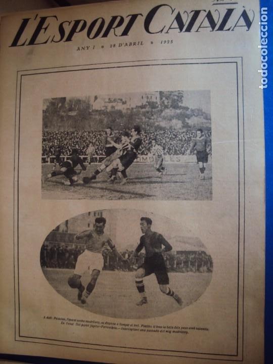 Coleccionismo deportivo: (F-210355)LOTE DE 62 EJEMPLARES L´SPORT CATALA - AÑOS 20 - JOAN GAMPER,SAMITIER,ALCANTARA,ETC. - Foto 5 - 248598965