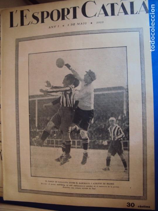 Coleccionismo deportivo: (F-210355)LOTE DE 62 EJEMPLARES L´SPORT CATALA - AÑOS 20 - JOAN GAMPER,SAMITIER,ALCANTARA,ETC. - Foto 6 - 248598965