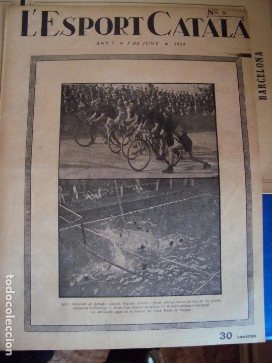Coleccionismo deportivo: (F-210355)LOTE DE 62 EJEMPLARES L´SPORT CATALA - AÑOS 20 - JOAN GAMPER,SAMITIER,ALCANTARA,ETC. - Foto 9 - 248598965