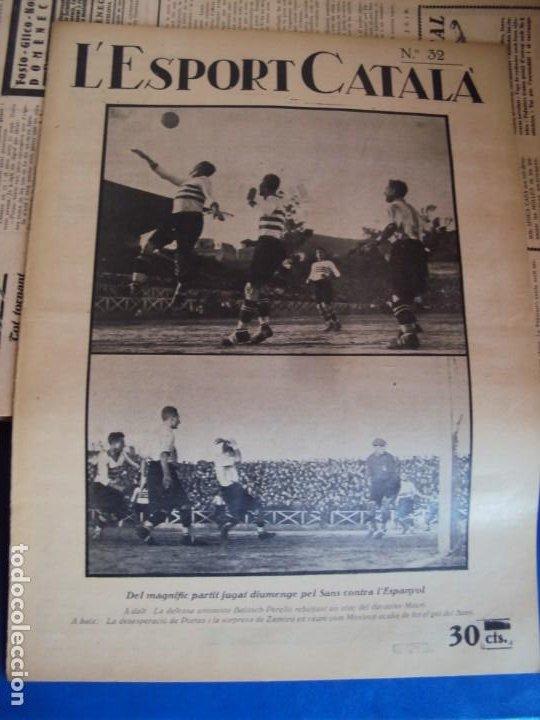 Coleccionismo deportivo: (F-210355)LOTE DE 62 EJEMPLARES L´SPORT CATALA - AÑOS 20 - JOAN GAMPER,SAMITIER,ALCANTARA,ETC. - Foto 26 - 248598965