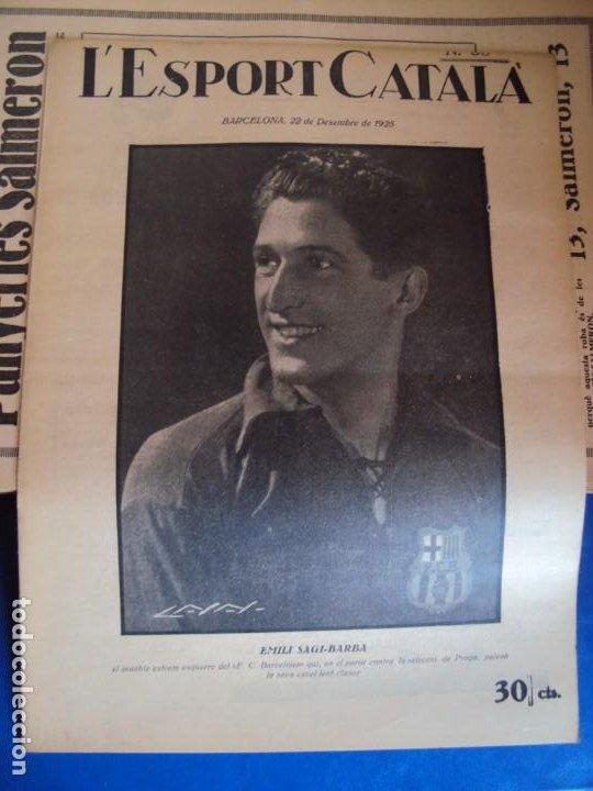 Coleccionismo deportivo: (F-210355)LOTE DE 62 EJEMPLARES L´SPORT CATALA - AÑOS 20 - JOAN GAMPER,SAMITIER,ALCANTARA,ETC. - Foto 31 - 248598965