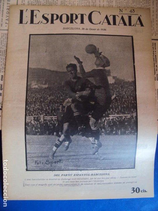 Coleccionismo deportivo: (F-210355)LOTE DE 62 EJEMPLARES L´SPORT CATALA - AÑOS 20 - JOAN GAMPER,SAMITIER,ALCANTARA,ETC. - Foto 35 - 248598965