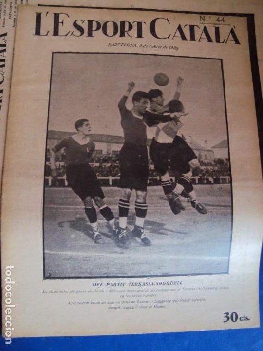 Coleccionismo deportivo: (F-210355)LOTE DE 62 EJEMPLARES L´SPORT CATALA - AÑOS 20 - JOAN GAMPER,SAMITIER,ALCANTARA,ETC. - Foto 36 - 248598965