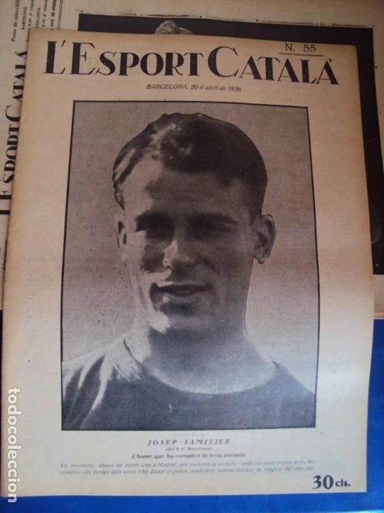 Coleccionismo deportivo: (F-210355)LOTE DE 62 EJEMPLARES L´SPORT CATALA - AÑOS 20 - JOAN GAMPER,SAMITIER,ALCANTARA,ETC. - Foto 38 - 248598965