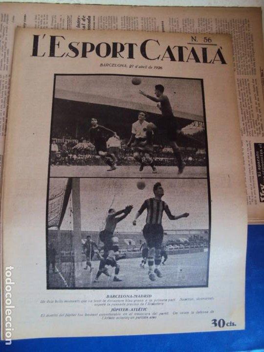 Coleccionismo deportivo: (F-210355)LOTE DE 62 EJEMPLARES L´SPORT CATALA - AÑOS 20 - JOAN GAMPER,SAMITIER,ALCANTARA,ETC. - Foto 39 - 248598965