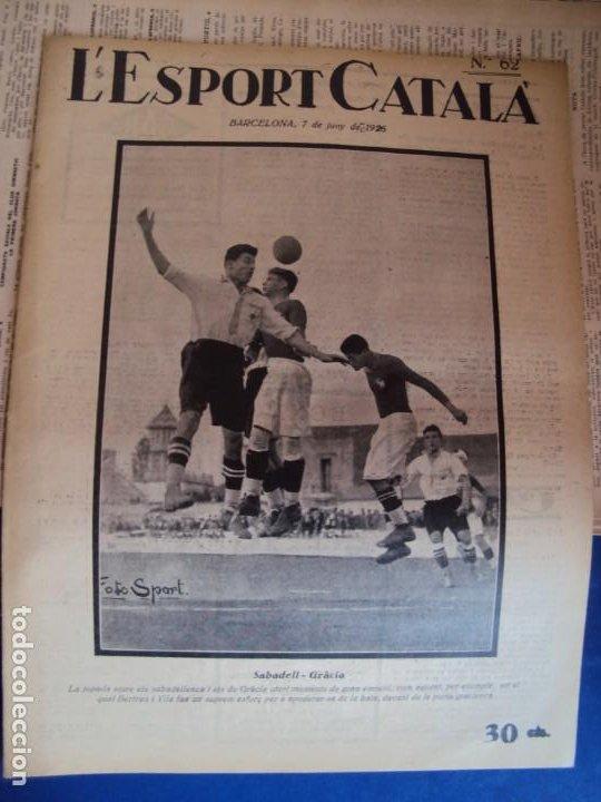 Coleccionismo deportivo: (F-210355)LOTE DE 62 EJEMPLARES L´SPORT CATALA - AÑOS 20 - JOAN GAMPER,SAMITIER,ALCANTARA,ETC. - Foto 45 - 248598965