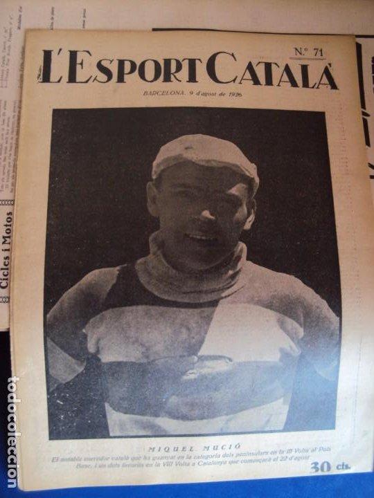 Coleccionismo deportivo: (F-210355)LOTE DE 62 EJEMPLARES L´SPORT CATALA - AÑOS 20 - JOAN GAMPER,SAMITIER,ALCANTARA,ETC. - Foto 52 - 248598965