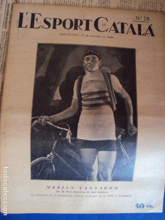 Coleccionismo deportivo: (F-210355)LOTE DE 62 EJEMPLARES L´SPORT CATALA - AÑOS 20 - JOAN GAMPER,SAMITIER,ALCANTARA,ETC. - Foto 55 - 248598965