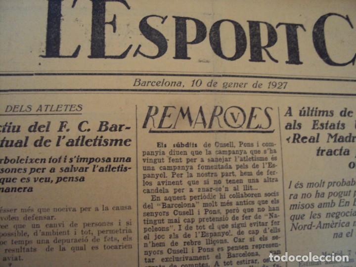Coleccionismo deportivo: (F-210355)LOTE DE 62 EJEMPLARES L´SPORT CATALA - AÑOS 20 - JOAN GAMPER,SAMITIER,ALCANTARA,ETC. - Foto 62 - 248598965
