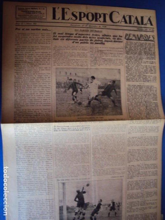 Coleccionismo deportivo: (F-210355)LOTE DE 62 EJEMPLARES L´SPORT CATALA - AÑOS 20 - JOAN GAMPER,SAMITIER,ALCANTARA,ETC. - Foto 65 - 248598965