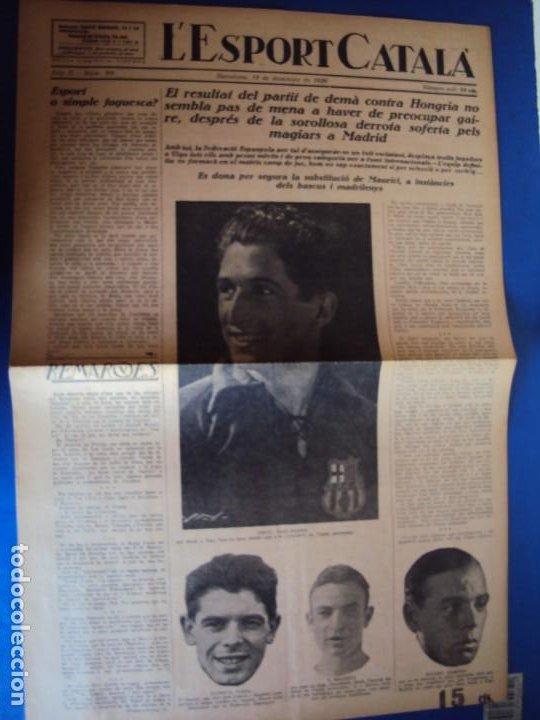 Coleccionismo deportivo: (F-210355)LOTE DE 62 EJEMPLARES L´SPORT CATALA - AÑOS 20 - JOAN GAMPER,SAMITIER,ALCANTARA,ETC. - Foto 67 - 248598965
