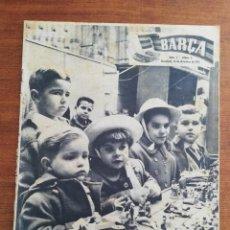 Colecionismo desportivo: REVISTA BARÇA AÑOS COMPLETOS - AÑO I 1955 , AÑO II 1956 - NÚMS. 1 AL 54. Lote 249135375