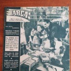Colecionismo desportivo: REVISTA BARÇA AÑO COMPLETO* - AÑO IX 1963 , NÚMS. 371 AL 422. Lote 249181045