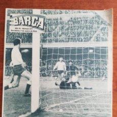 Colecionismo desportivo: REVISTA BARÇA AÑO COMPLETO - AÑO XI 1965 , NÚMS. 477 AL 528. Lote 249519950