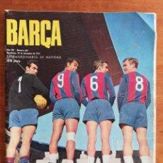 Colecionismo desportivo: REVISTA BARÇA AÑO COMPLETO - AÑO XIII 1967 , NÚMS. 581 AL 632. Lote 249521295