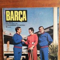 Colecionismo desportivo: REVISTA BARÇA AÑO COMPLETO - AÑO XV 1969 , NÚMS. 685 AL 737. Lote 251024520