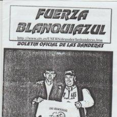 Collezionismo sportivo: FANZINE FUERZA BLANQUIAZUL 55 LAS BANDERAS HERCULÉS ULTRAS HOOLIGANS. Lote 251382250
