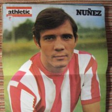 Coleccionismo deportivo: ATHLETIC CLUB-POSTER OFICIAL NUÑEZ (31X42 CTMS). Lote 251532390