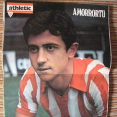 Coleccionismo deportivo: ATHLETIC CLUB-POSTER OFICIAL AMORRORTU (31X42 CTMS). Lote 251533270