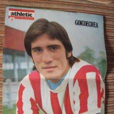 Coleccionismo deportivo: ATHLETIC CLUB-POSTER OFICIAL GOICOECHEA (31X42 CTMS). Lote 251533765