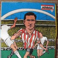 Coleccionismo deportivo: ATHLETIC CLUB-POSTER OFICIAL ORUE-MUGUERZA (30X41 CTMS). Lote 251535210