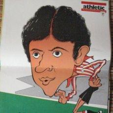 Coleccionismo deportivo: ATHLETIC CLUB-POSTER OFICIAL AMORRORTU-K.TOÑO HIJO (30X41 CTMS). Lote 251536030