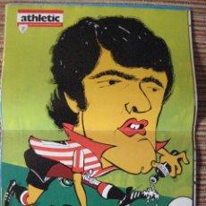 Coleccionismo deportivo: ATHLETIC CLUB-POSTER OFICIAL DANI-K.TOÑO HIJO (30X41 CTMS). Lote 251536315