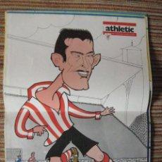 Coleccionismo deportivo: ATHLETIC CLUB-POSTER OFICIAL NANDO-K.TOÑO FRADE (31X42 CTMS). Lote 251536985