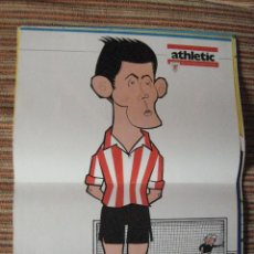 Coleccionismo deportivo: ATHLETIC CLUB-POSTER OFICIAL ETURA-K.TOÑO FRADE (31X42 CTMS). Lote 251537275