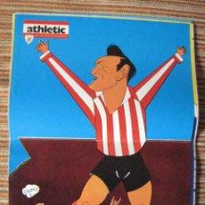Coleccionismo deportivo: ATHLETIC CLUB-POSTER OFICIAL VENANCIO-K.TOÑO FRADE (31X42 CTMS). Lote 251537505