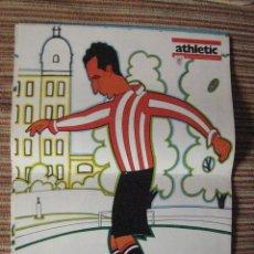 Coleccionismo deportivo: ATHLETIC CLUB-POSTER OFICIAL CHIRRI I-PISARRIN 76 (31X42 CTMS). Lote 251537950
