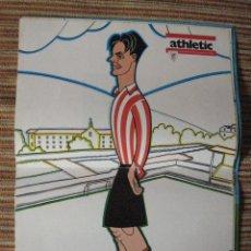 Coleccionismo deportivo: ATHLETIC CLUB-POSTER OFICIAL LARRAZA-PISARRIN 76 (31X42 CTMS). Lote 251538415