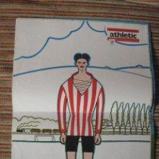 Coleccionismo deportivo: ATHLETIC CLUB-POSTER OFICIAL ESTEBAN EGUIA-PISARRIN 76 (31X42 CTMS). Lote 251538575