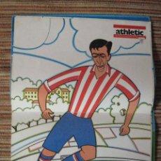 Coleccionismo deportivo: ATHLETIC CLUB-POSTER OFICIAL GERMAN ECHEVARRIA-PISARRIN 76 (31X42 CTMS). Lote 251538775