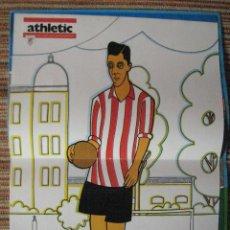Coleccionismo deportivo: ATHLETIC CLUB-POSTER OFICIAL PICHICHI-PISARRIN 76 (31X42 CTMS). Lote 251539130