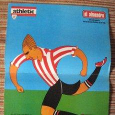 Coleccionismo deportivo: ATHLETIC CLUB-POSTER OFICIAL GOROSTIZA-PISARRIN 75 (31X42 CTMS). Lote 251539885