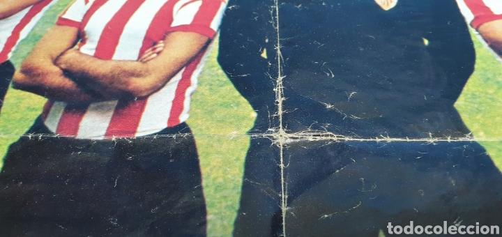 Coleccionismo deportivo: SUPER PÓSTER ATHLETIC DE BILBAO - 75 AÑOS DE FUTBOL 1898 - 1973 - LA ACTUALIDAD ESPAÑOLA - Foto 7 - 252913405