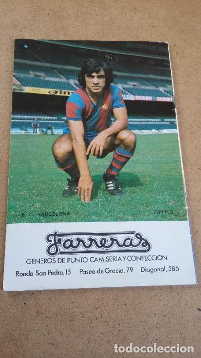 Coleccionismo deportivo: PROGRAMA OFICIAL Nº 455 - BARCELONA VS HÉRCULES F.C. - 9 NOVIEMBRE 1975 - Foto 2 - 252933510