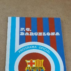 Coleccionismo deportivo: PROGRAMA OFICIAL Nº 455 - BARCELONA VS HÉRCULES F.C. - 9 NOVIEMBRE 1975. Lote 252933510