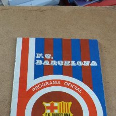Coleccionismo deportivo: PROGRAMA OFICIAL Nº 462 - BARCELONA VS ATHLETIC CLUB DE BILBAO - 1 FEBRERO 1976. Lote 252934070