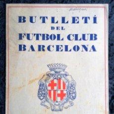 Coleccionismo deportivo: BUTLLETI DEL FUTBOL CLUB BARCELONA - MAIG 1928 - ANY I - Nº 2. Lote 253294785