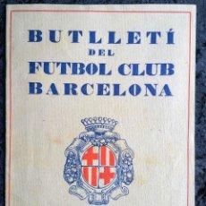 Coleccionismo deportivo: BUTLLETI DEL FUTBOL CLUB BARCELONA - JUNY - JULIOL 1928 - ANY I - Nº 3. Lote 253297560