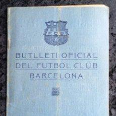Coleccionismo deportivo: BUTLLETI OFICIAL DEL FUTBOL CLUB BARCELONA - SEPTEMBRE - OCTUBRE 1921 - NOS: 8 - 9 - RARO. Lote 253311785