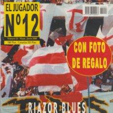 Collectionnisme sportif: REVISTA EL JUGADOR Nº12 NÚMERO 24 MAYO-JUNIO 2000 ULTRAS HOOLIGANS. Lote 253894610
