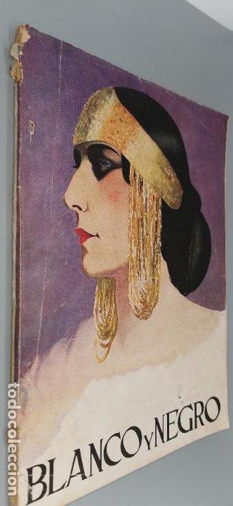 REVISTA BLANCO Y NEGRO 1926 N°1845 MUERTE DE VALENTINO (Coleccionismo Deportivo - Revistas y Periódicos - otros Fútbol)