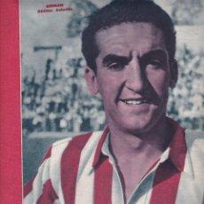 Coleccionismo deportivo: MARCA Nº 98 1944 MADRID 4-0 EL ATLETICO AVIACIÓN VENCE AL CASTELLÓN . EL BARCELONA GANA AL GRANADA. Lote 254229015