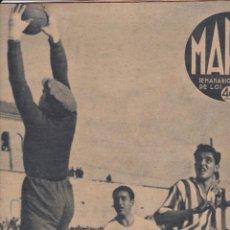 Coleccionismo deportivo: MARCA Nº 56 MADRID 1940 5-1 ATHLETIC AVIACIÓN ZARAGOZA . 9 TANTOS ESPAÑOL VENCE AL MADRID 5-4. Lote 254251630