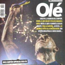 Coleccionismo deportivo: REVISTA ESPECIAL OLÉ (ARGENTINA) BOCA JUNIORS CAMPEÓN SUPERLIGA 2019/20. Lote 254326260