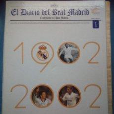 Coleccionismo deportivo: EL DIARIO DEL REAL MADRID - CENTENARIO DEL REAL MADRID - EL MUNDO - 53 NUMEROS. Lote 254357220