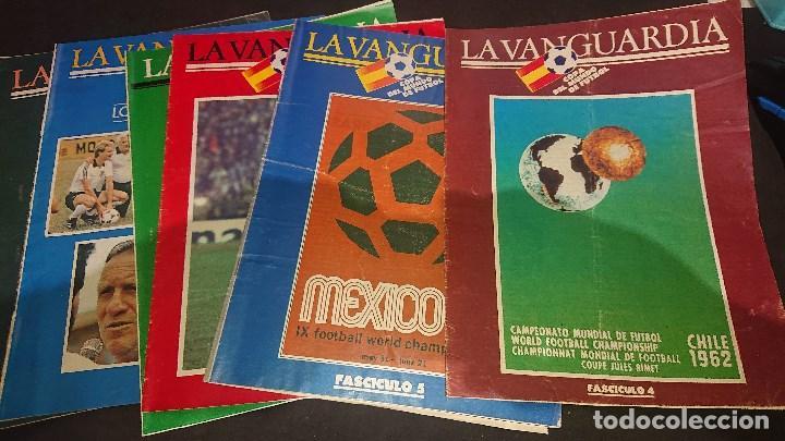 LOTE DE 6 FASCICULOS DE LA VANGUARDIA , COPA DEL MUNDO DE FUTBOL , Nº 1 4 5 7 8 9 , LEER DESCRIPCION (Coleccionismo Deportivo - Revistas y Periódicos - otros Fútbol)